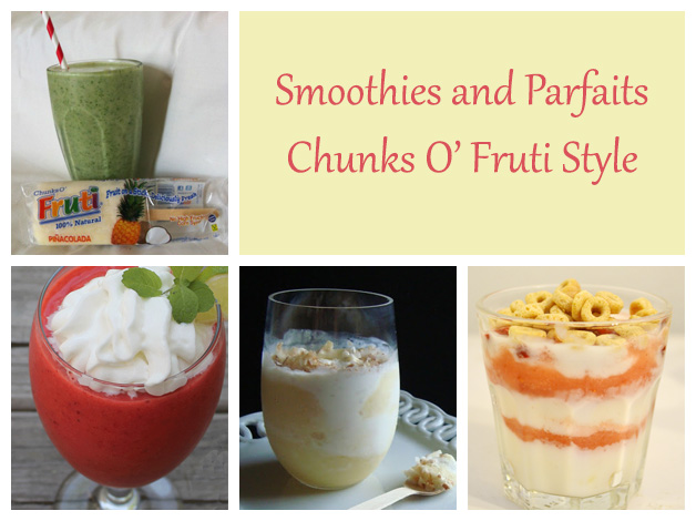 smoothies and parfait